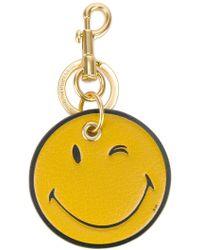 Anya Hindmarch - Wink Smiley Keyring - Lyst