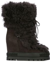 Casadei - Wedge Heel Boot - Lyst