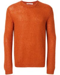 Low Brand - Crew Neck Knit Jumper - Lyst
