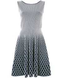 Antonino Valenti - Two-tone Fitted Dress - Lyst