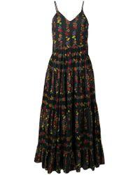 Carolina K - Floral Print Dress - Lyst