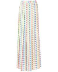 Ultrachic | Straw Print Skirt | Lyst