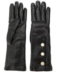 Gucci - Button Trim Long Gloves - Lyst