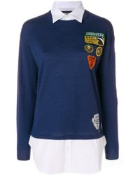DSquared² - Camp Patched Jumper - Lyst