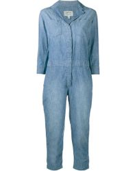 Current/Elliott - The Canal Denim Overall - Lyst