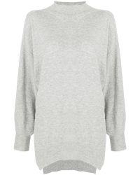 Pinko - High Neck Oversized Sweater - Lyst