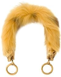 Prada - Shearling Bag Strap - Lyst
