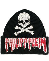 Philipp Plein - Logo Beanie - Lyst