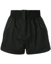 IRO - Stud-detail Shorts - Lyst