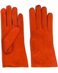 Holland & Holland Horse Riding Gloves - Orange