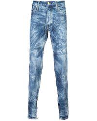 Fear Of God - Schmale Jeans mit ausgeblichenem Effekt - Lyst