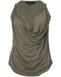 Urban Zen - Cowl Neck Sleeveless Top - Lyst