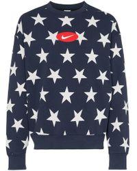 Nike - Nrg Stars Fleece Sweatshirt - Lyst