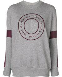 Victoria, Victoria Beckham - Target Logo Sweatshirt - Lyst