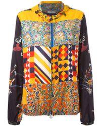 Pierre Louis Mascia - Printed Hooded Jacket - Lyst