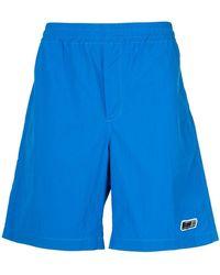 MSGM - Pantalones cortos de deporte con talle alto - Lyst