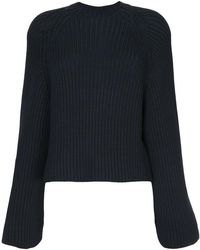 Rosetta Getty - Cropped Back Pullover - Lyst