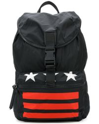 Givenchy - Star Striped Backpack - Lyst