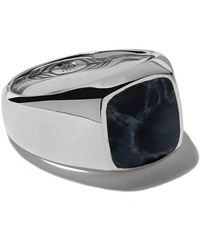 David Yurman - Exotic Stone Pietersite Signet Ring - Lyst