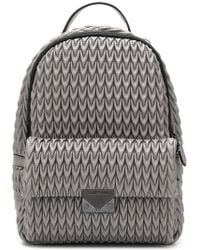 Emporio Armani - Quilted Drop Backpack - Lyst