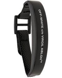 Off-White c/o Virgil Abloh - Logo Print Bracelet - Lyst