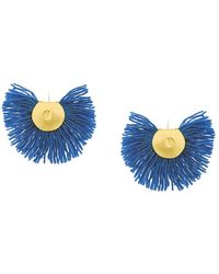 Katerina Makriyianni - Hand-fan Earrings - Lyst