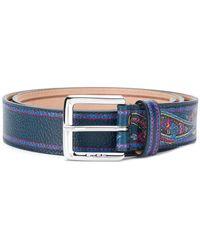 Etro - Paisley Belt - Lyst