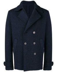 Harris Wharf London - Cropped Peacoat - Lyst