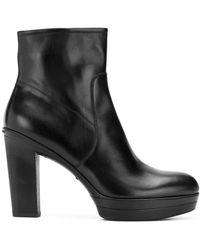 Santoni - Classic Platform High Boots - Lyst