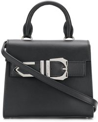 Versus - Buckle Trim Clutch - Lyst