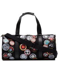 Saint Laurent - Noe Multi Patch Duffle Bag - Lyst