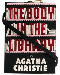 Olympia Le-Tan - 'The Body In The Library' Clutch - Lyst