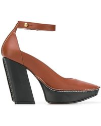 Givenchy - High Wedge Sandals - Lyst