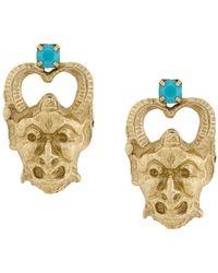 Iosselliani Puro Satyr Earrings - Metallic