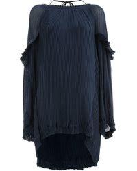 Litkovskaya - Micro-pleated Short Dress - Lyst