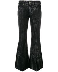 Givenchy - Flared Tie Dye Jeans - Lyst