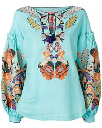 Yuliya Magdych - Harvest Embroidered Top - Lyst