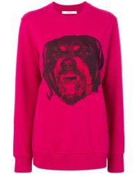 Givenchy - Rottweiler Print Sweatshirt - Lyst