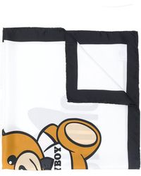 Moschino - Contrasting Border Scarf - Lyst