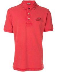 Napapijri - Embroidered Logo Polo Shirt - Lyst