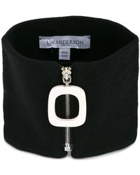 JW Anderson - Zipped Neckband - Lyst