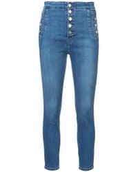 J Brand - Natasha Sky High Skinny Jeans - Lyst