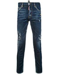DSquared² - Skinny Dan Jeans - Lyst