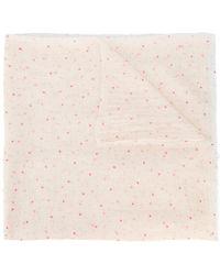 Faliero Sarti - Mini Heart Print Scarf - Lyst