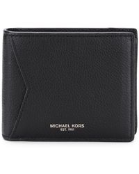MICHAEL Michael Kors - Bi-fold Logo Wallet - Lyst
