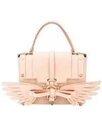 Niels Peeraer - Saddle Leather Wings 3pm Handbag - Lyst