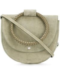 Theory - Round Handle Shoulder Bag - Lyst