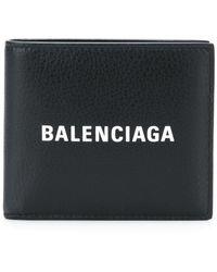 Balenciaga - Квадратный Кошелек С Логотипом - Lyst
