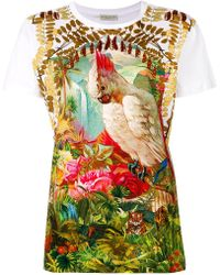Etro - Jungle Print T-shirt - Lyst