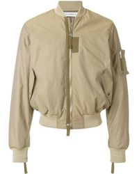 JW Anderson Baseball Card Patch Bomber Jacket - Multicolour